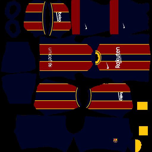 Barcelona kit dls 2021